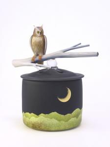 月夜の誘い 木の葉木菟2
