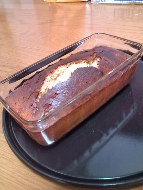 ラムケーキ焼けました