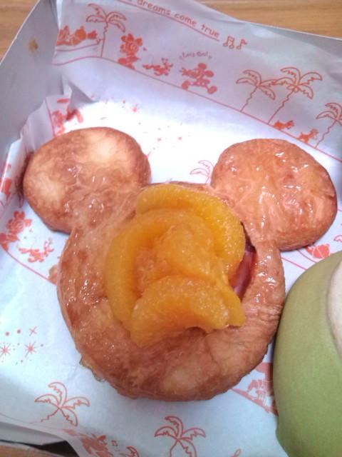 ミッキー型オンレンジパイ