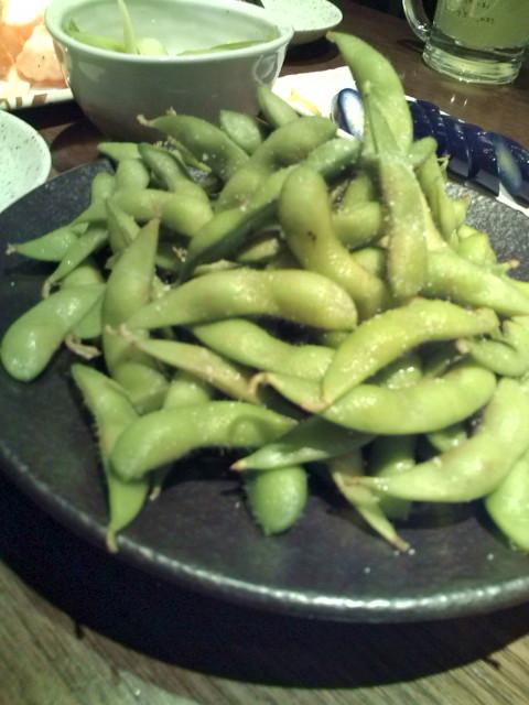 枝豆大盛り