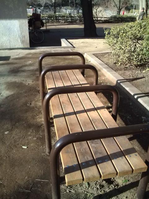 このベンチの特徴は♪