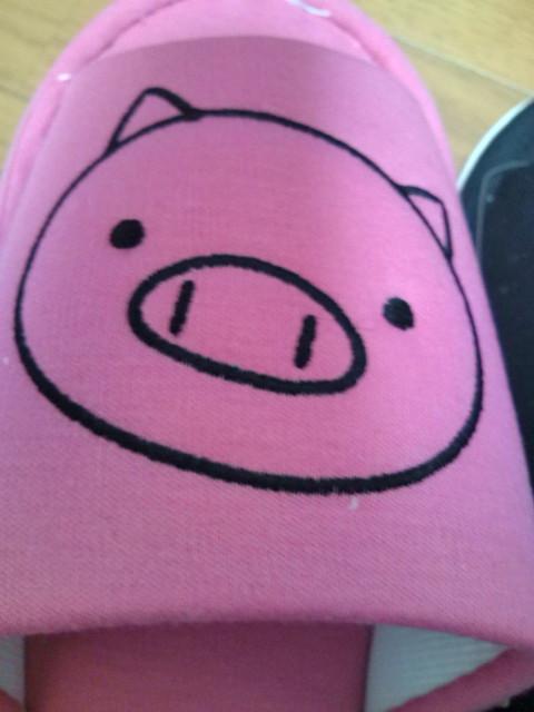ピンクのブタさん