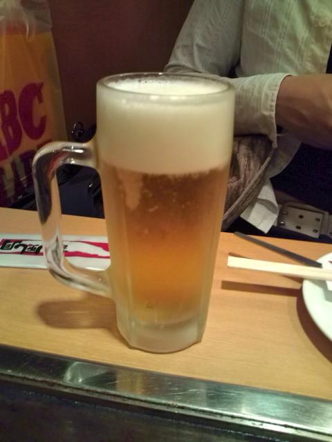 生ビール・風月