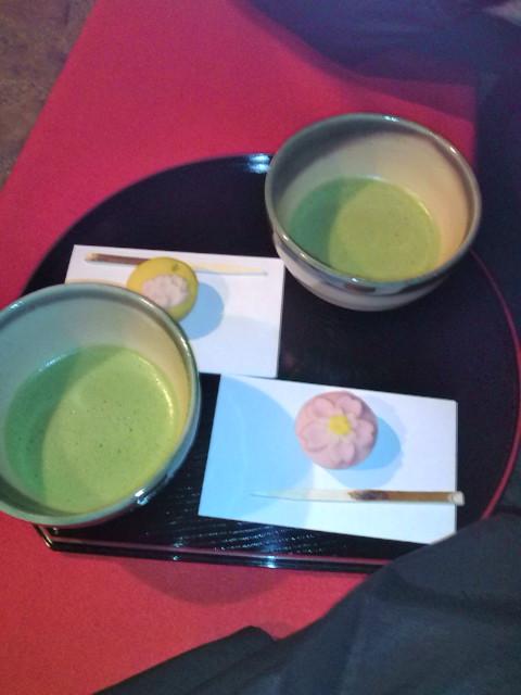 抹茶(和菓子付)500