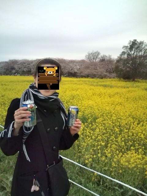 花よりお酒?(笑)