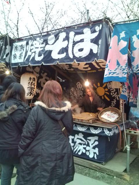 横浜家系焼きそば屋台