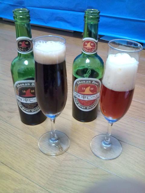 湘南ビールの飲み比べ