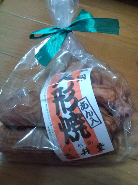 亀井堂の人形焼き