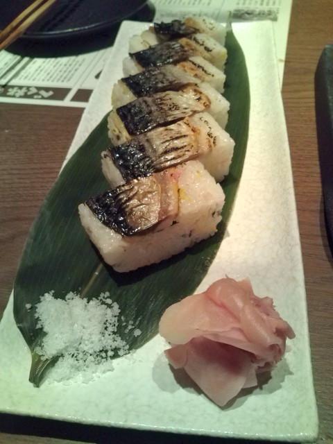 龍馬寿司 鯖の炙り寿司