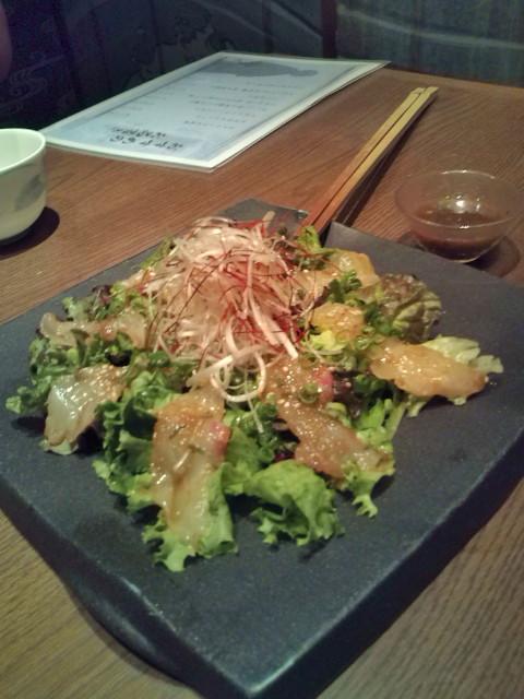 龍馬の海援鯛サラダ
