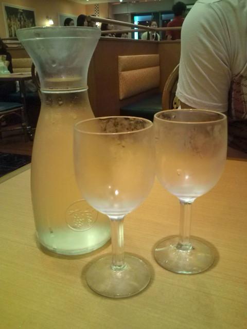 白ワインデカンタ