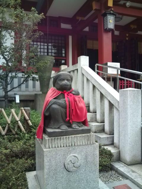 日枝神社のお猿さん
