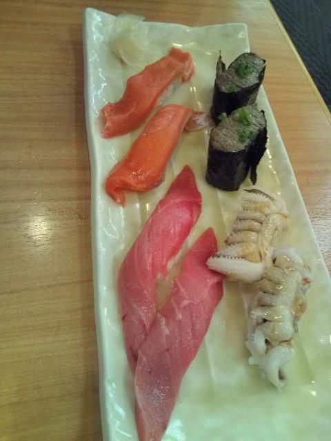 お寿司サーモン他