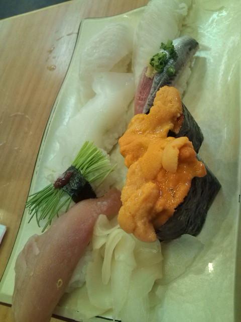 お寿司うに他