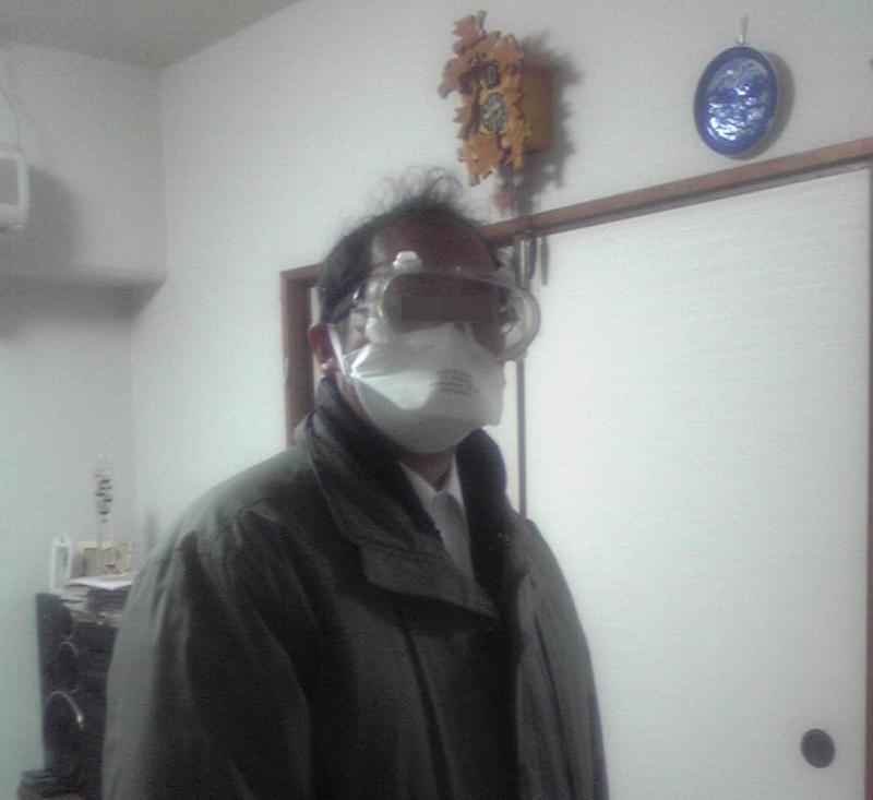 マスクとゴーグル