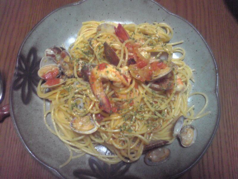 スパゲッティペスカトーレ