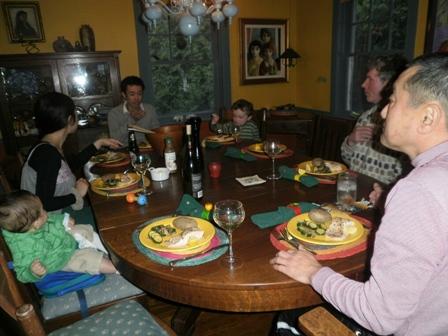 Cobourg 二日目夕食