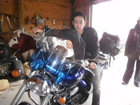 バイクが非常に似合わないティーケーlm