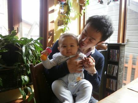 Cobourg 甥っ子とティーケーlm