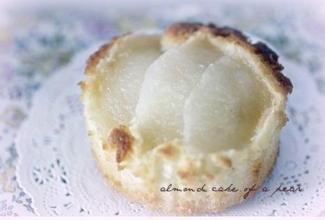 梨のアーモンドケーキ