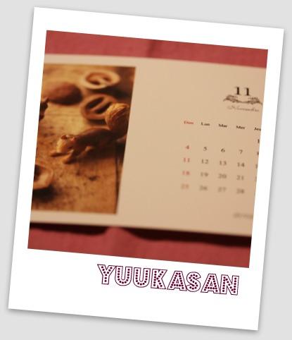 yuukaさんカレンダー 11月