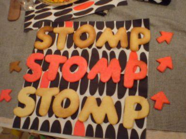 STOMPクッキー