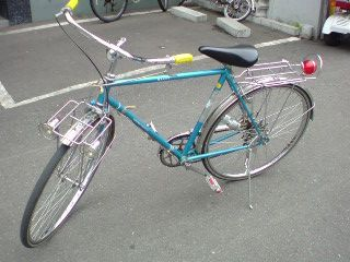 世にもまじめな自転車のはず。プ=3