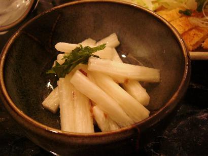 山芋梅肉和え