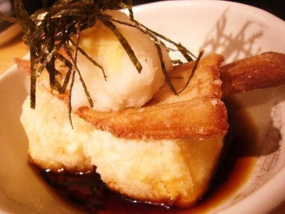 穴子と豆腐の揚げだし (3)