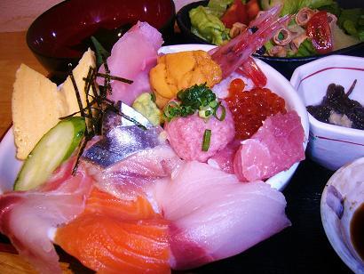 女性限定プチ海鮮丼 (6)