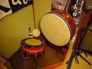 ゆいまーるの太鼓