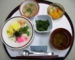 090103五目ちらし寿司 昼 (6)
