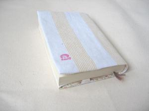 自分用ブックカバーを本に・・・
