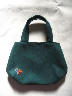 フェルトのバッグ