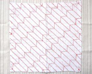 刺し子の布巾