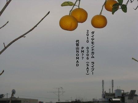 ライブ告知みかん空s