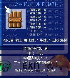 12.17 HP135ウッドシールド