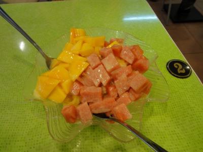 芒果+西瓜+雪花かき氷
