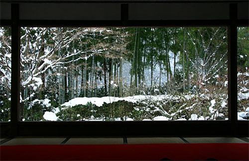 宝泉院(冬の額縁庭園)