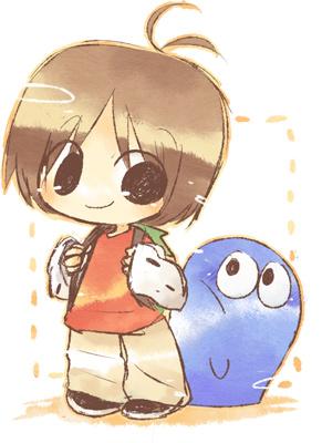 マックとブルー