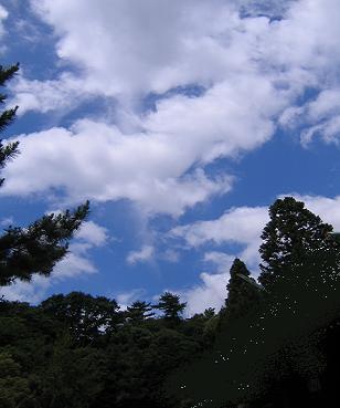 風に流れる白雲が~