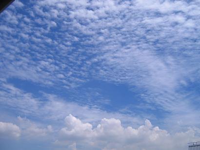 これは今日の雲♪