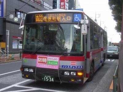 大森駅にて