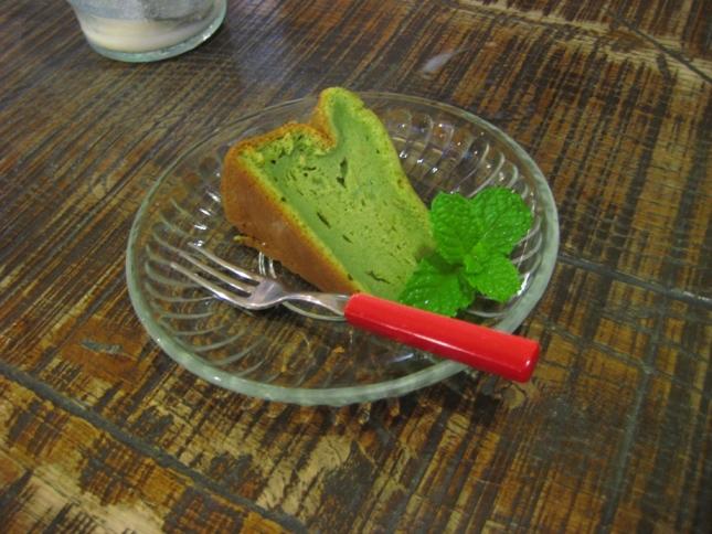 あらき抹茶チーズケーキ