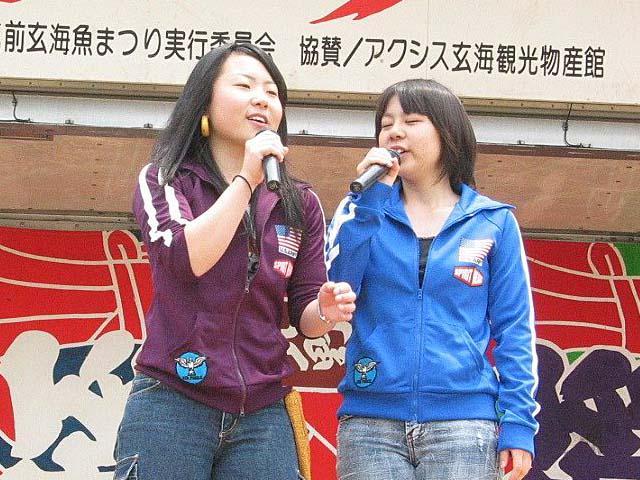 葵ちゃんと、梓さんの意気のあった、コンビで開演。