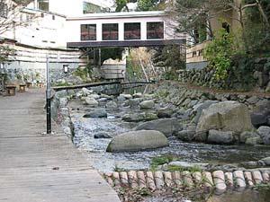 犬鳴き川遊歩道