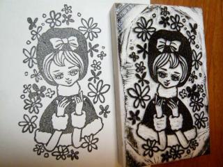 ポーズ人形 冬子3