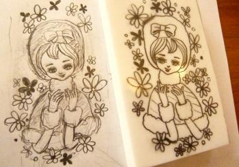 ポーズ人形 冬子1