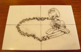 ポーズ人形 カード1