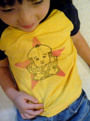 福助Tシャツ(☆)